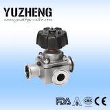 Soupape à diaphragme bi-directionnelle sanitaire de Yuzheng Dn20