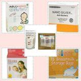 Zak van de Moedermelk van Pet12/PE50 BPA de Vrije Vooraf steriliserende