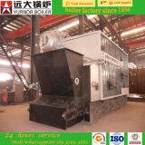 Legno di capienza della caldaia a vapore di uso della fabbrica dello zucchero 2-4ton infornato
