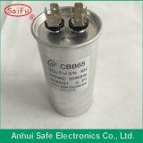 Condensador de funcionamiento de aluminio oval Cbb65