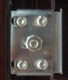 新しいデザインブラウンの鋼鉄ドア(RA-S044)