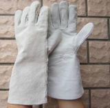 そぎ皮の安全溶接手袋作業手袋中国
