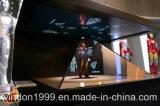De aangepaste Apparatuur van de Reclame van de Showcase van de Doos van de Vertoning van het Hologram Holografische