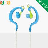 Auricular estéreo de Bluetooth de la nueva del deporte 2016 del oído del gancho de leva del auricular venta al por mayor sin hilos del receptor de cabeza