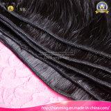 Natürliches schwarze Karosserien-Wellen-Peruaner-Menschenhaar