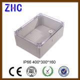 Пластичная водоустойчивая электрическая распределительная коробка 400*300*160 кабельного соединения IP66