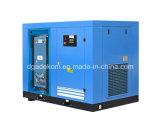 Compresor de aire del inversor del petróleo de la refrigeración por agua del tornillo de VSD (KD75-10INV)