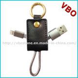 2016 2 neufs en 1 câble de remplissage de caractéristiques du trousseau de clés USB pour le téléphone mobile