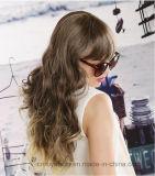 Heiße Art-lockiges Haar-lose Wellen-Haar-Chemiefasergewebe-Perücke