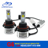 Fast Shippingの中国Whole Sale 6000k Car LED Light 40W 4500lm H13 LED Headlight