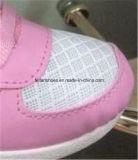 方法デザイン女の子のキャンバスの注入の靴、低価格の原因のスポーツの靴