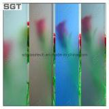 vidro geado gravado ácido de 3mm-12mm com GV do Ce