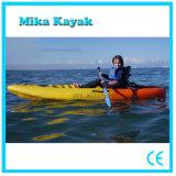 Одиночное пластичное кане ягнится оптовая продажа Baratos Kayak шлюпки затвора