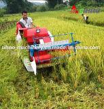 moissonneuse de cartel bon marché de riz d'entraînement de la vitesse 14HP mini