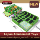 Trampolín de la base del parque de atracciones de la alta calidad (B1501-5)