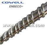 Barril del tornillo de la alta calidad para la máquina de la ampolla del PVC