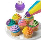 Торт муфты пронзительный конвертера сопла мешка Tri-Color Cream украшая инструменты