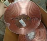 Weiche Temperament-Kupfer-Rohr-Pfannkuchen-Spulen-kupfernes Gefäß