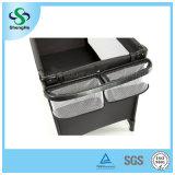 安全快適で黒いベビーベッド(SH-A10)