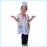 7000964-Halloween Party Little Cooking Chef Vest Top Hat Dress su Kids Unisex Costume