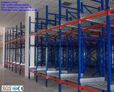 Cremalheira viva dinâmica do rolo da gravidade resistente para o armazenamento do armazém