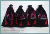 Satin-Jungfrau-Haar-verpackenbeutel, Haar-Extension rollt Satin-Beutel zusammen