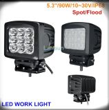 90W Squar Spot 또는 Flood Beam LED Work Light
