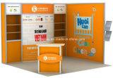 Ausstellung-Bildschirmanzeige-Stand-Standplatz für Ausstellungs-Erscheinen