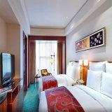 Meubles standard d'ensemble de chambre à coucher de jumeau de double d'hôtel