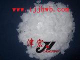 Flocos da soda cáustica usados na fábrica de sabão detergente
