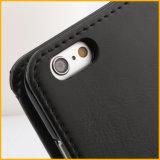 Leather feito sob encomenda Cell Phone Caso com Mirror
