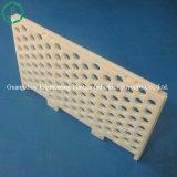 Boa placa de filtro de nylon plástica da resistência química