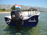 Outboard durevole Engine 2-Stroke 15HP per Fisherman