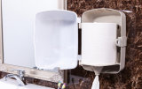 White Color (KW-948)를 가진 엄청나게 큰 Toilet Paper Dispenser