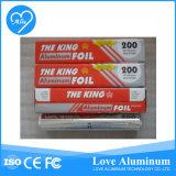 Papel disponible de la limpieza del papel de aluminio