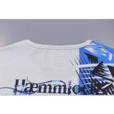 最上質の円形の首顧客用パターン有機性ティーワイシャツ
