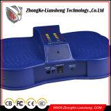 Azul da alta qualidade sob o detetor de metais das sapatas