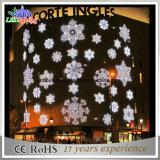 Luz decorativa interna do floco de neve da alameda de compra do Natal do diodo emissor de luz