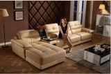 O sofá Home moderno da mobília ajustou-se com couro italiano