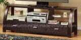 ホーム家具(DMBQ039)のための曲げられた木製TVキャビネット/立場/表