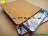 in fiber board Cork Coasters, MDF/Bf Cork Coaster, medium Density fiber board Cork Coaster, Particle board and MDF Cork Coaster (B&C-G061)