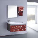 側面のキャビネットとのシンプルな設計のステンレス鋼の浴室の虚栄心