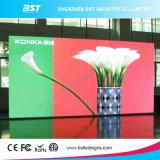 Afficheur LED P6 polychrome d'intérieur avec le système de régulation synchrone