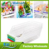 13.5*30*8.5cm-5.3*11.8*3.3inch 부엌 냉장고 과일 저장 조직자 선반 공간