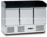 뷔페 서비스를 위한 스테인리스 피자 전시 냉장고