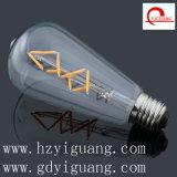 에너지 절약 LED 가벼운 St64는 백색을 데운다
