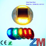 Parafuso prisioneiro da estrada do diodo emissor de luz da liga de alumínio/marcador de piscamento da estrada com painel solar
