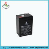 batterie exempte d'entretien de SLA de 6V 4ah VRLA AGM pour la lumière