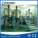 Plのステンレス鋼のジャケットの乳化混合タンクオイルの混合機械化学混合機械