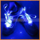 LED Light Up Flash Glow Elastic Lacing Nylon Shoe Laces